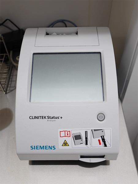 尿検査機器(シーメンス:クリニックステータスプラス)